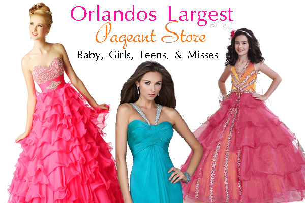 Pageant Dresses for all ages