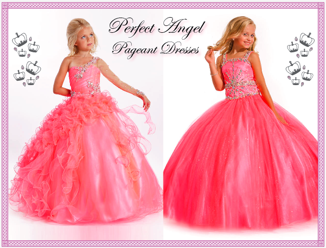 perfect angel pageant dresses