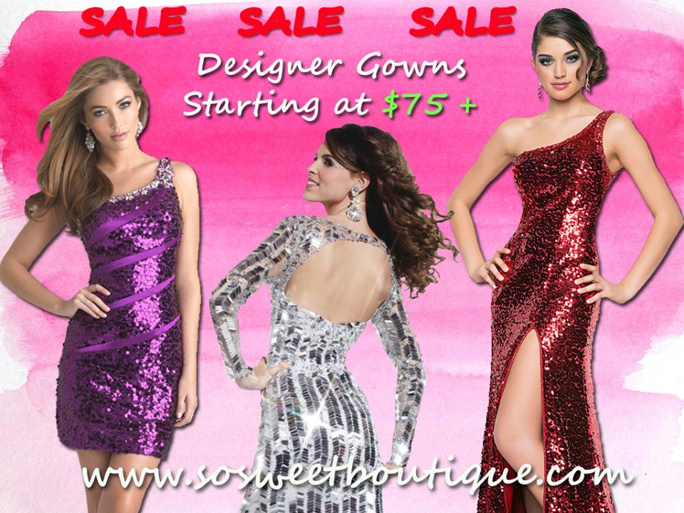 Discounted Designer Gowns