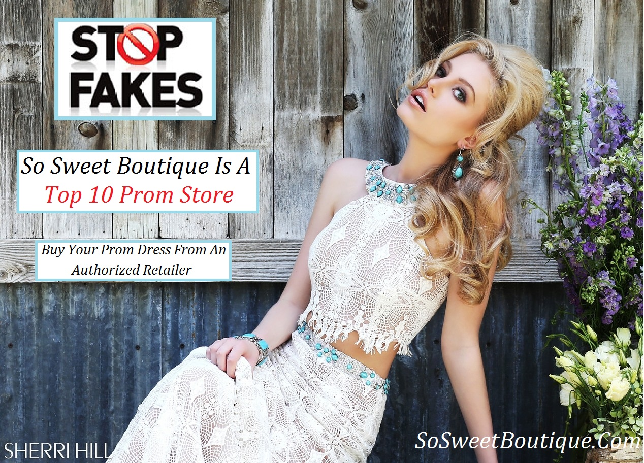 Stop Fakes- Don\'t Trust Fake Prom Dress Websites