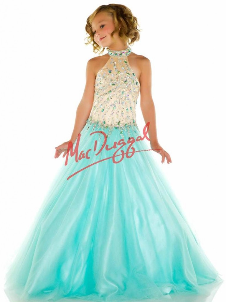 stop fakes- sugar pageant dress