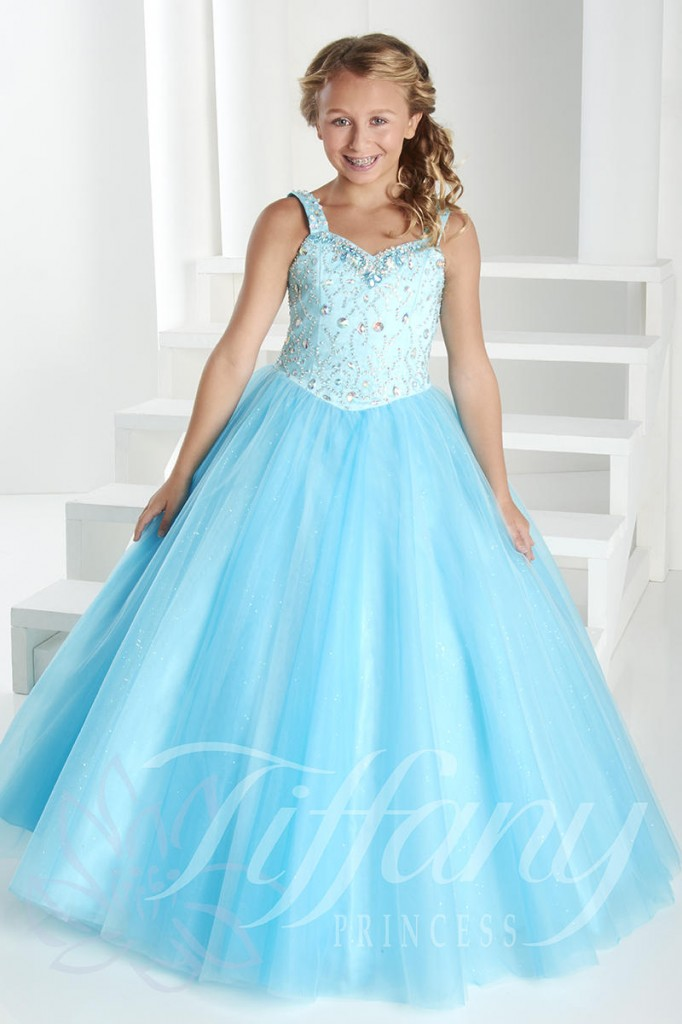 Tiffany Pageant dress- how to select your size